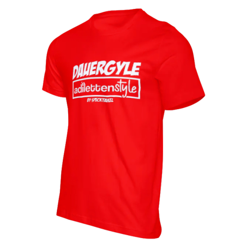 Adilettenstyle T-Shirt (rot)